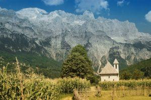 Villa Gjecaj at Albanian Alps